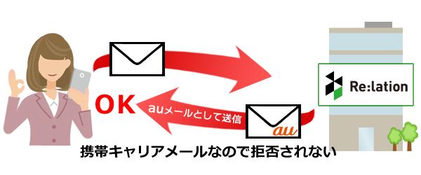 携帯メールアドレスオプション